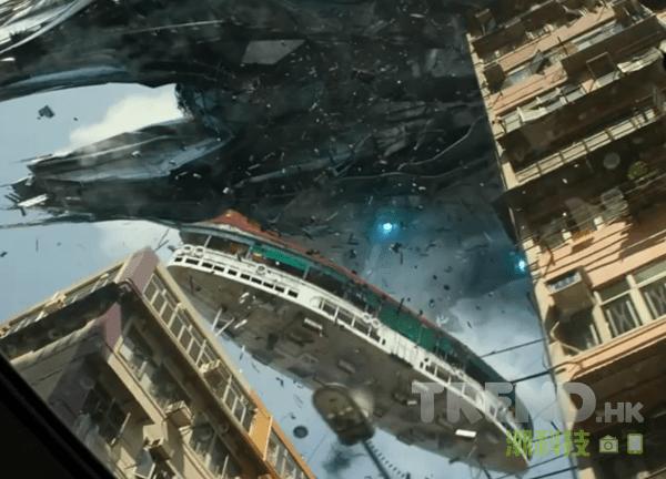 《變形金剛:殲滅世紀》空襲香港片段曝光