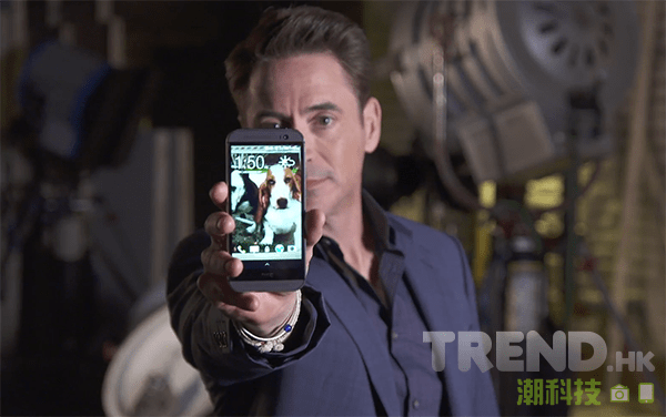 鐵甲奇俠 Robert Downey Jr. 現身宣傳 HTC One (M8)
