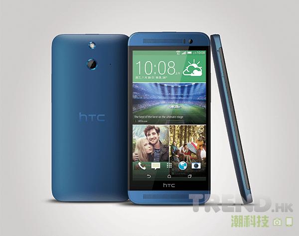 HTC One (E8)「炫美藍」新色隆重登場