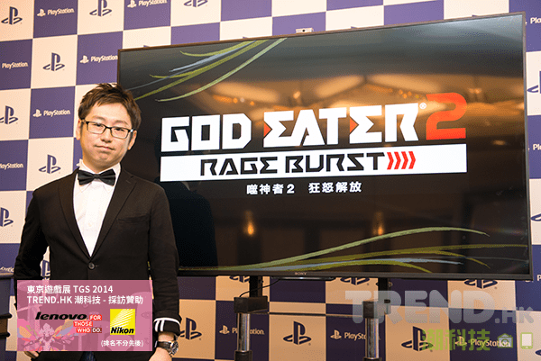[TGS 2014]《GOD EATER 2: RAGE BURST》傳媒發佈會報導