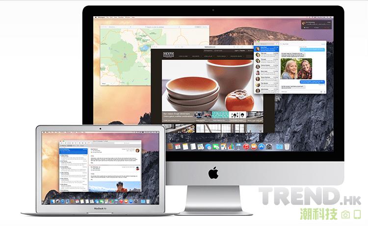 OS X Yosemite 10.10.5 更新推出:提升系統穩定性、相容性