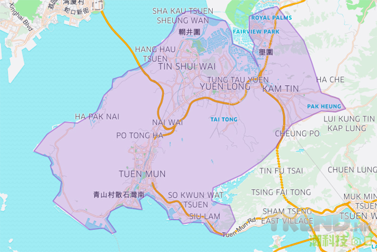 uber-tuen-mun-yuen-long-free-ride-promotion-map