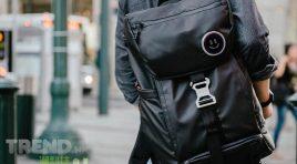 表情豐富的 BACKPAIX 多功能智能旅行背包
